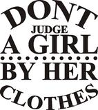 Don't judge_